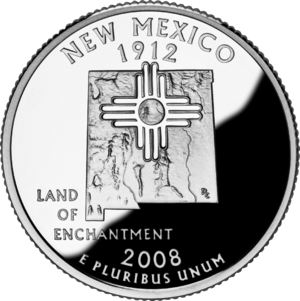 Economy of New Mexico - Image: 2008 NM Proof