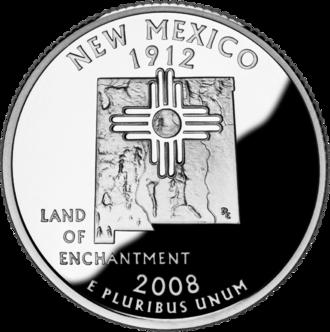 Economy of New Mexico - Image: 2008 NM Proof
