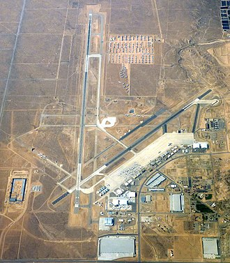 Southern California Logistics Airport - Aerial photo taken July 2009