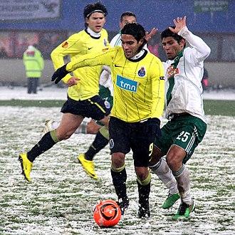 Radamel Falcao - Falcao playing for FC Porto in 2010