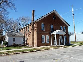 National Register of Historic Places listings in Dodge County, Minnesota - Image: 2010 1025 Eureka Hotel