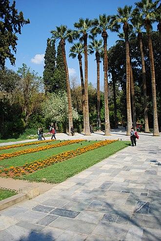 National Garden, Athens - Image: 20100411 athina 100