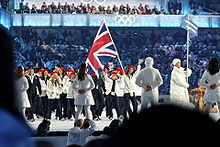 List of flag bearers for Great Britain at the Olympics