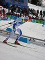 2010 Winter Olympics Gasper Berlot in nordic combined LH10km.jpg