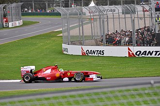 2011 Australian Grand Prix - Felipe Massa had a disappointing race, and finished down in ninth place (which became seventh after the race, due to the Saubers' disqualification).