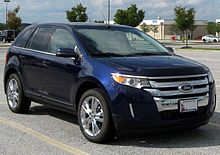 Ford Edge Limited Us Facelift