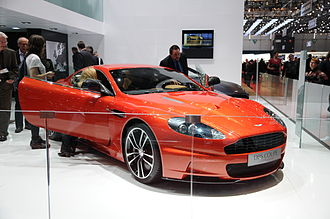Performance car - Aston Martin DBS V12