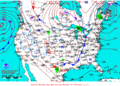 2012-04-08 Surface Weather Map NOAA.png