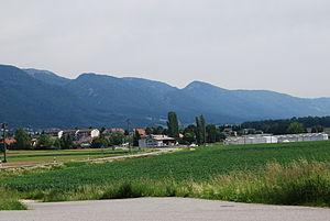 Lengnau, Bern - Fields on the outskirts of Lengnau