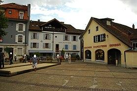 Versoix city center