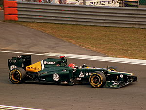 2012 CATERHAM RENAULT AT THE YEONGAM GRAND PRIX SOUTH KOREA OCT (8214051582).jpg