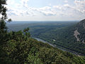 2013-08-20 12 34 04 View south from the rocky overlook at the end of the Mount Nittany Trail.jpg