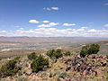 "2014-06-13 12 21 07 View north from the summit of ""E"" Mountain in the Elko Hills of Nevada.JPG"