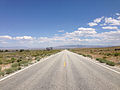 2014-08-09 14 09 02 View east along U.S. Routes 6 and 50 about 92.0 miles east of the Nye County line in White Pine County, Nevada.JPG