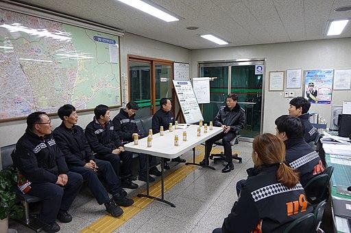 2015년 1월 20일 서초소방서장 권혁민 방배119안전센터 초도 순시70