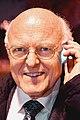 2015-10-29 Feier 350 Jahre Leibniz Bibliothek, Abschied Dr. Georg Ruppelt, (123) der Bibliothekar Elmar Mittler auf de Weg zum Stadion von Hannover 96.JPG
