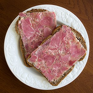 Head cheese - Sliced Dutch preskop