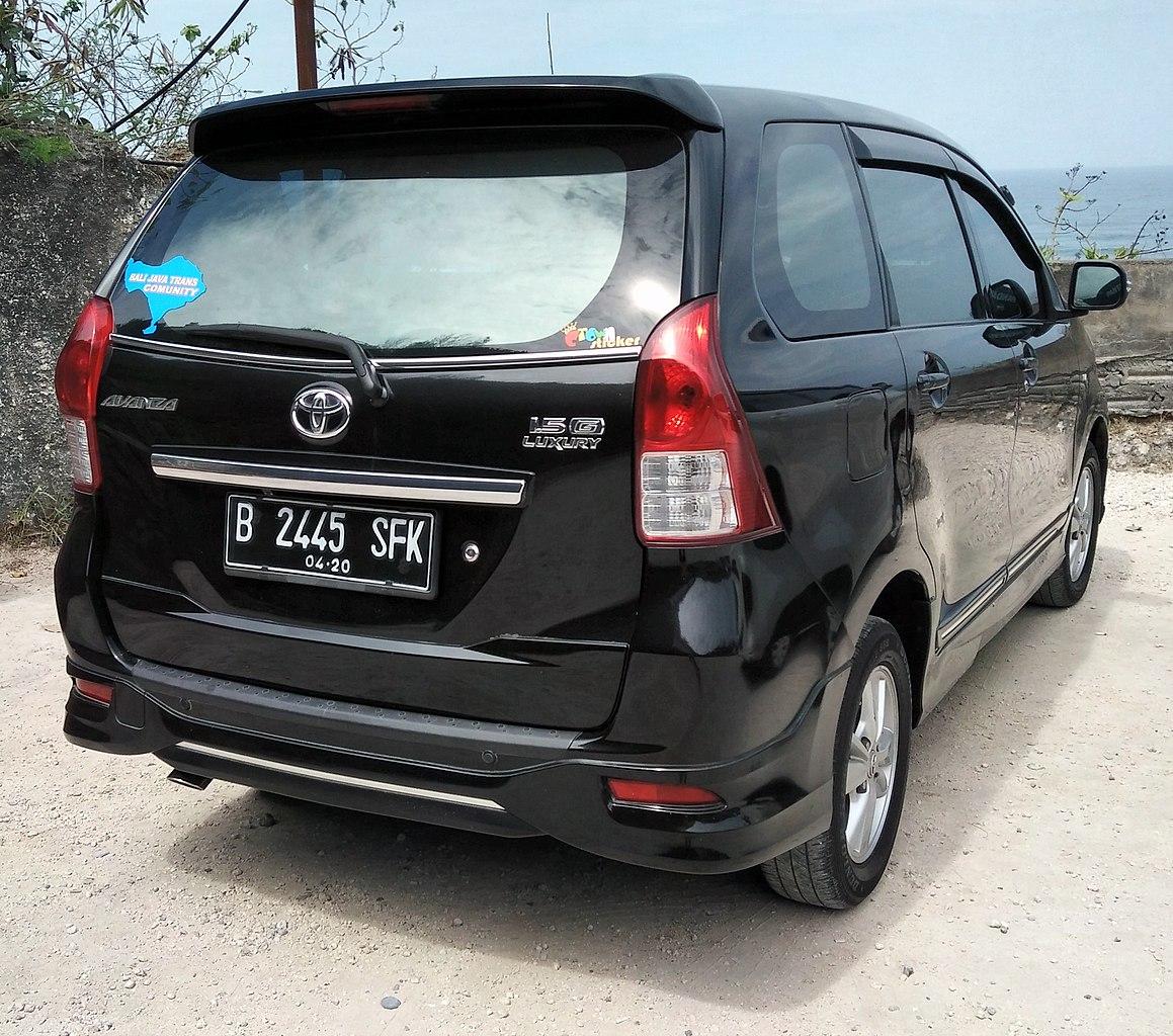 Kelebihan Toyota Avanza 2015 Top Model Tahun Ini