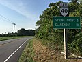 2017-07-12 18 11 35 View east along Virginia State Route 40 (Martin Luther King Highway) at Pine View Road in Gwaltney Corner, Surry County, Virginia.jpg