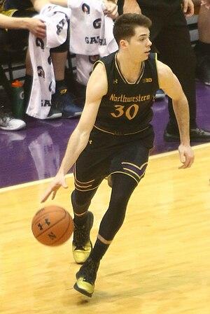2016–17 Northwestern Wildcats men's basketball team - Bryant McIntosh, 2nd team