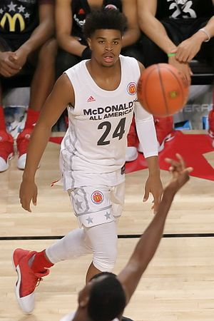 2017–18 Florida State Seminoles men's basketball team - Florida State recruit M.J. Walker at the 2017 McDonald's All-American Boys Game.