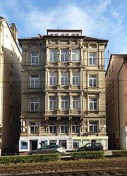 Schloßstraße in Stuttgart