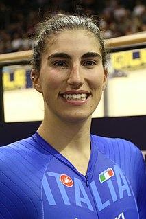 Elisa Balsamo (cyclist) Italian road and track cyclist