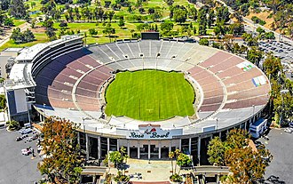 1994 FIFA World Cup - Image: 2018.06.17 Over the Rose Bowl, Pasadena, CA USA 0039 (42855669451) (cropped)
