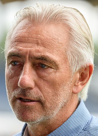 Bert van Marwijk - Van Marwijk as Australia manager in 2018