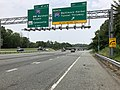 2019-06-05 12 44 10 View north along Interstate 95 at Exit 46 (NORTH Interstate 895-Baltimore Harbor Tunnel Thruway) along the edge of Ilchester and Elkridge in Howard County, Maryland.jpg