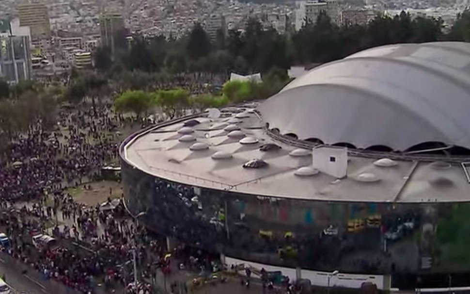 2019 Ecuadorian protests - cultural center