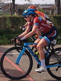Veronika Kormos Hungarian cyclist