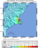 2106 Christchurch earthquake Shakemap.png
