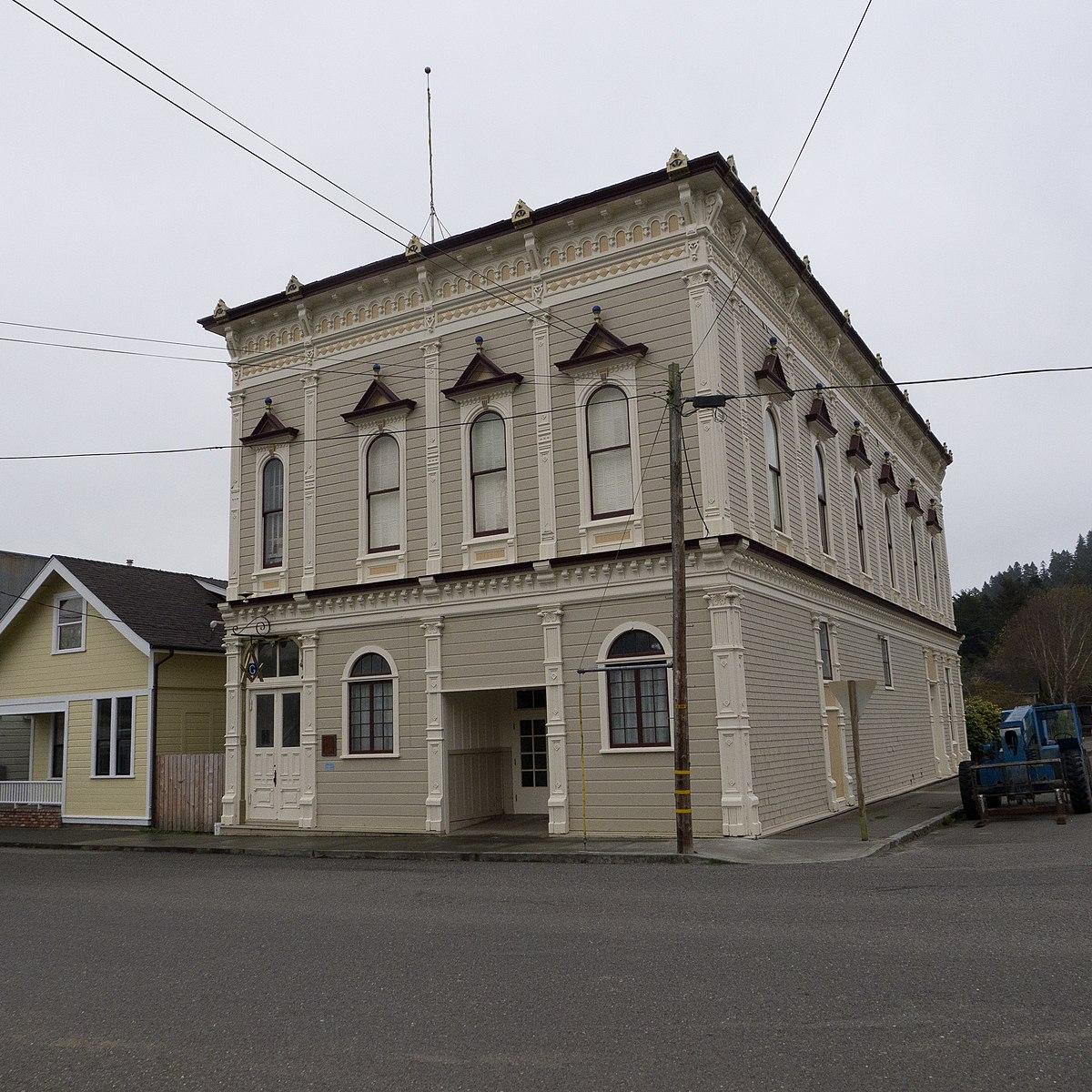 Masonic Temple Building Denver Colorado: Masonic Temple (Ferndale, California)