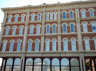 National Register of Historic Places listings in Buchanan County, Missouri - Image: 216 N 4th St Joe