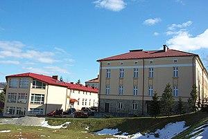 21 Mickiewicza Street PWSZ Sanok buildings from Szopena.jpg