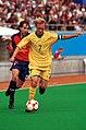 221000 - Football David Barber action 4 - 3b - Sydney 2000 match photo.jpg