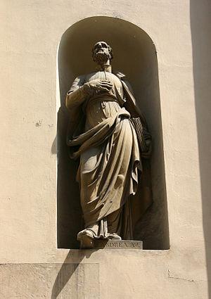 Andrew Avellino - Andrew Avellino Statue in Milan (Italy).