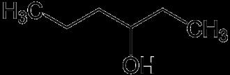 3-Hexanol - Image: 3 hexanol