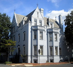 Hugh D. Auchincloss - Auchincloss' former residence in Georgetown, Washington, D.C.