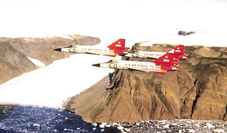 327th Fighter-Interceptor Squadron - Image: 327th Fighter Interceptor Squadron Convair F 102A 75 CO Delta Daggers
