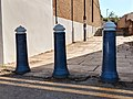 3 Bollards At Junction With Putney Embankment-close-up-colour.jpg