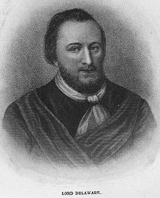Delaware River - Thomas West, 3rd Baron De La Warr