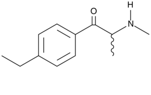4-Ethylmethcathinone - Image: 4 ethylmethcathinone