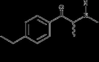 4-Ethylmethcathinone - Image: 4 ethylmethcathinone