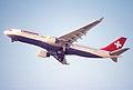 43bm - Swissair Airbus A330-223; HB-IQA@ZRH;07.11.1998 (5888180802).jpg