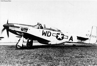 335th Fighter Squadron - Image: 4fg p 51 wd