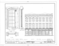 50-52 North Commercial Street (Commercial Building), Mobile, Mobile County, AL HABS ALA,49-MOBI,145- (sheet 4 of 9).png