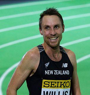 Nick Willis New Zealand middle-distance runner