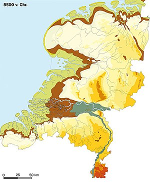 Netherlands - The Netherlands in 5500 BC